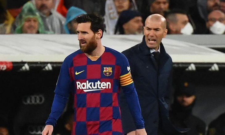 Zidane nuk e dëshiron largimin e Messi nga Barcelona