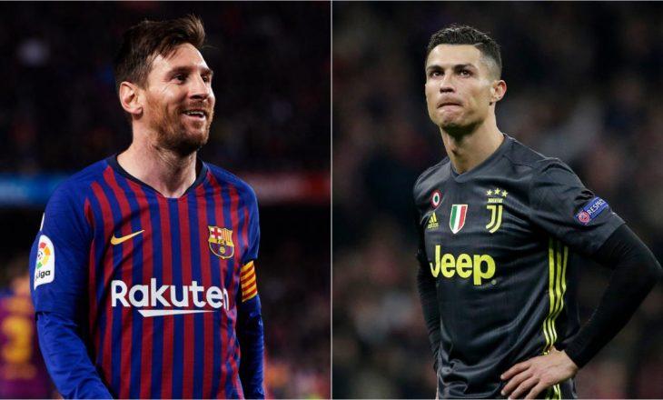 Për sa ndeshje i arritën 700 gola Messi dhe Ronaldo?