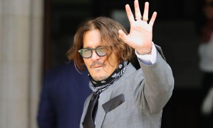 Johnny Depp pëson krizë financiare dhe hyn në borxhe