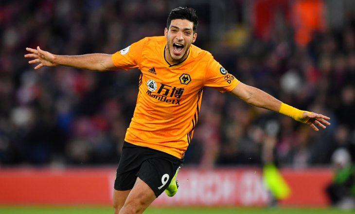 Arsenal sytë ka Raul Jimenez i Wolves