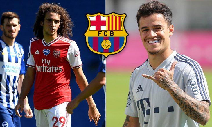 Arsenal dhe Barcelona pranë shkëmbimit Guendouzi-Coutinho