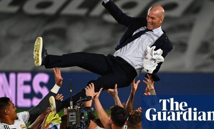 Zidane: Lojtarët e fituan titullin
