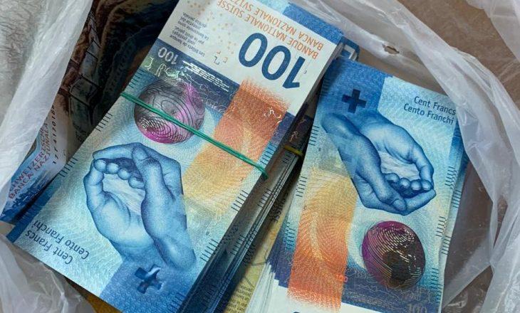 Sekuestrohen 77.160 franga në pikën kufitare të Morinës