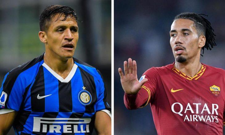 Alexis Sanchez dhe Chris Smalling mbeten në Serie A deri në fund të sezonit
