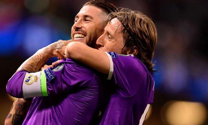 Luka Modric: Sergio Ramos është mbrojtësi më i mirë në botë