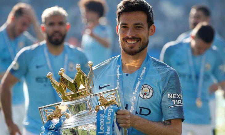 David Silva luan sot ndeshjen e fundit për Manchester City