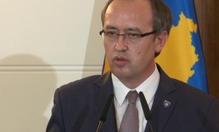 Hoti: Nuk ka marrëveshje mes Kosovës e Serbisë për vizitat e zyrtarëve serbë në Kosovë