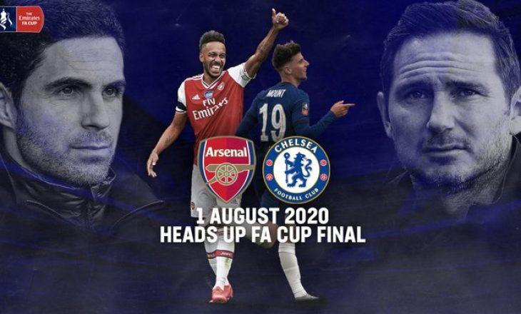 Detajet e ndeshjes finale të Fa cup në mes Arsenal vs Chelsea