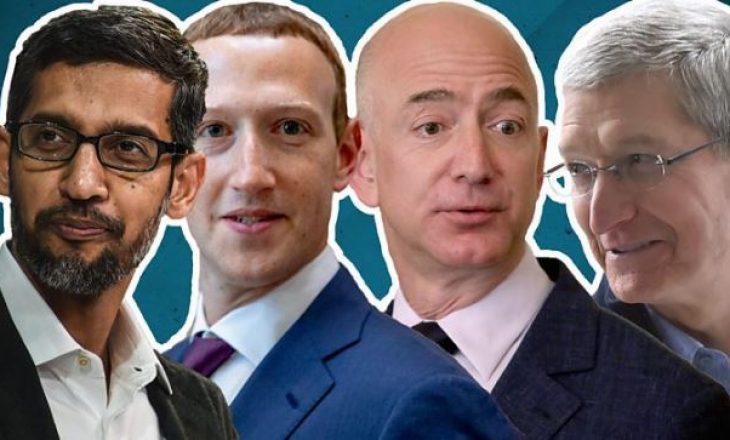 Gjigantët e teknologjisë si Facebook, Amazon, Google dhe Apple përballen me Kongresin amerikan