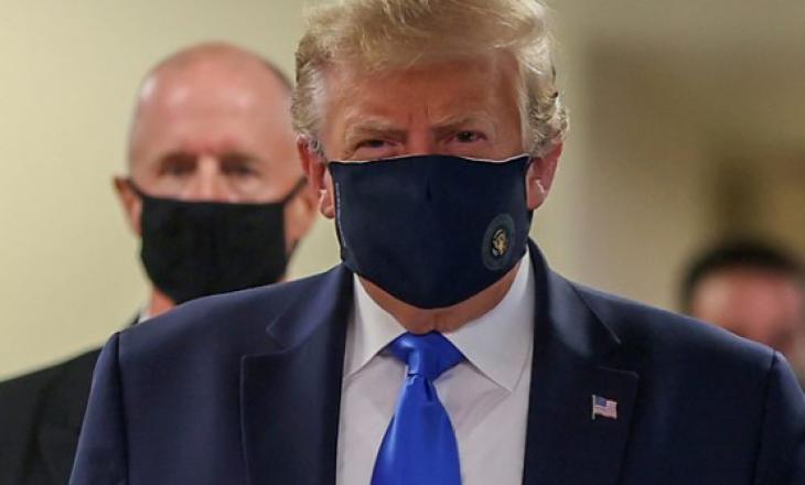 Presidenti i Amerikës vendos për herë të parë maskë në publik