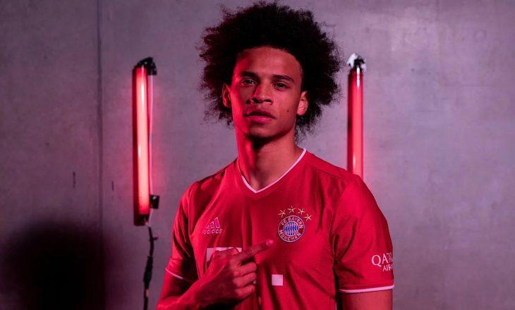 Fjalët e para të Sane si lojtar i Bayern Munich