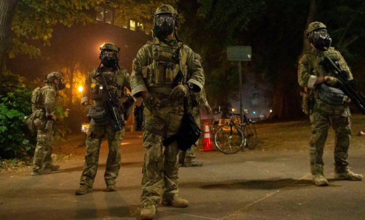 Agjentë federalë të paidentifikuar pushtojnë qytetin e Portland në SHBA