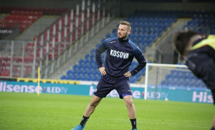 Fidan Aliti golashënues dhe lojtar i ndeshjes për ekipin e tij