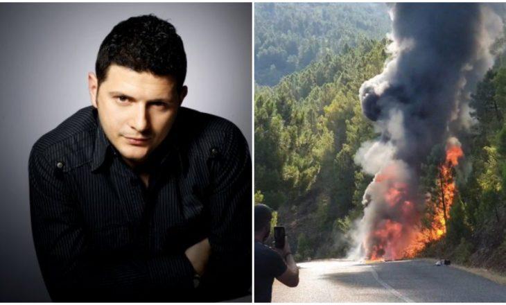 """Pas aksidentit, lajmërohet Ermal Mamaqi: """"Ishim me aq energji pozitive sa shpërtheu furgoni"""""""