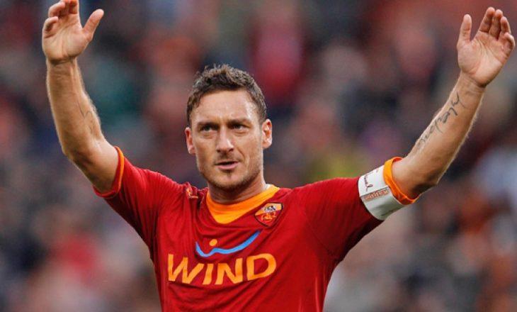 Postimi i Dua Lipës bëri që serbët të acarohen edhe me Francesco Totti-n