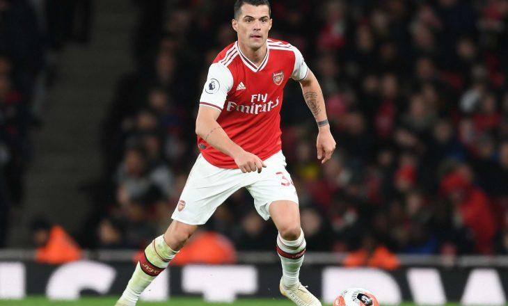 Granit Xhaka ka shënuar në fitoren e Arsenal kundër Norwich