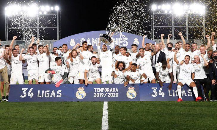 Real Madrid kampion i La Liga, shikoni statistikat e këtij sezoni