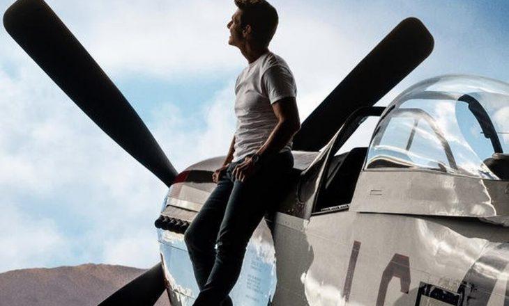 Top Gun: Maverick i Tom Cruise u xhirua me avionë të vërtetë