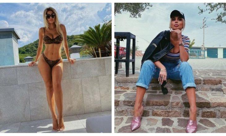 """""""Zyrtarisht"""" verë për Luana Vjollcën, moderatorja """"ngre temperaturat"""" me bikini (FOTO)"""