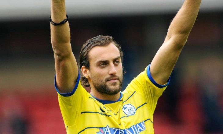 Atdhe Nuhiu në formë të mirë – realizon 2 gola për ekipin e tij