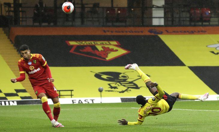 A është ky goli i sezonit në Premier Ligë? (VIDEO)