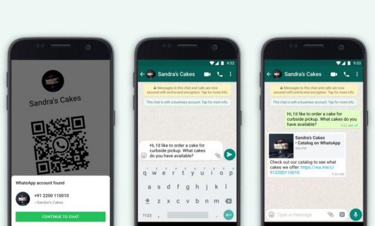 WhatsApp sjell mjete të reja për bizneset