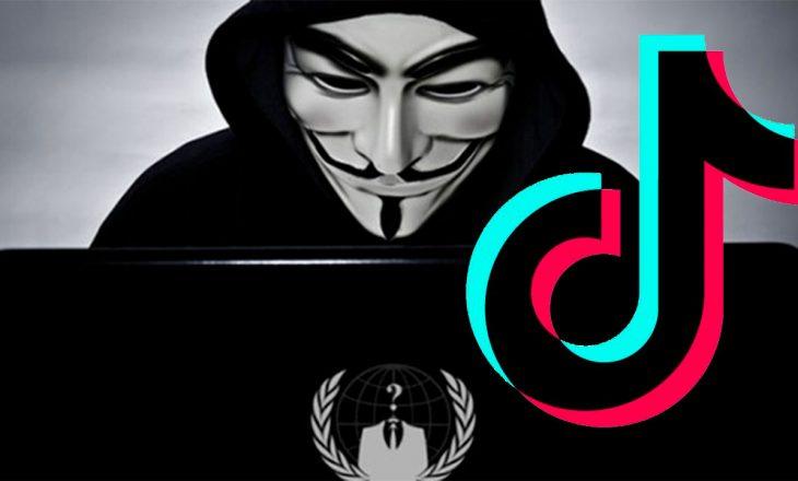 Anonymous thotë se aplikacioni TikTok është një operacion masiv spiunimi