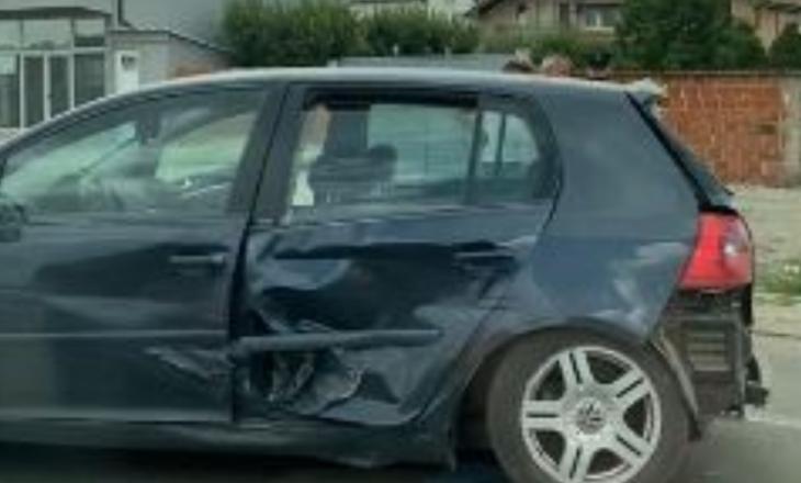 Dy të lënduar në një aksident trafiku afër Aeroportit të Prishtinës, policia jep detaje