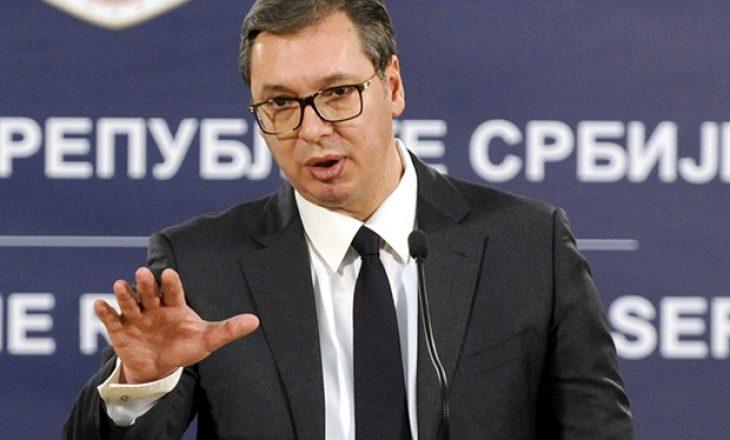 Vuçiq tregon çka diskutoi me Lajçak gjatë takimit të sotëm në Serbi