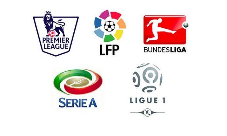 Top ndeshjet e sotme, në top ligat e Evropës