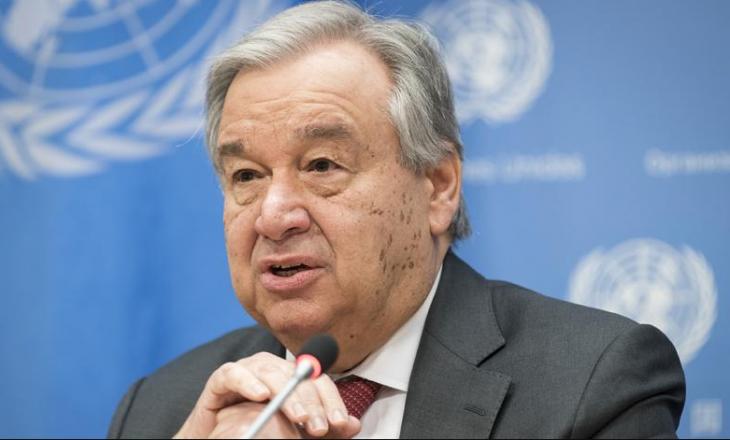 """Shefi i OKB-së paralajmëron se bota është në një """"udhëkryq kritik"""""""