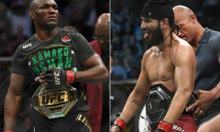 Super-nata në UFC – Usman e Masvidal më në fund ndeshen në oktogon