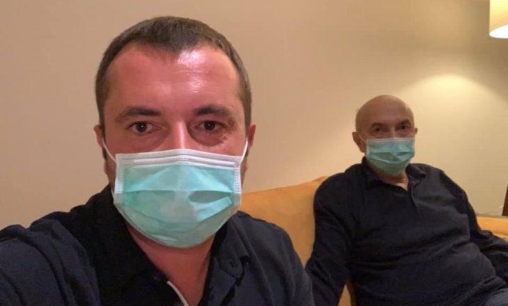 Mustafa në karantinë – publikohen pamjet e para prej se është infektuar me COVID-19