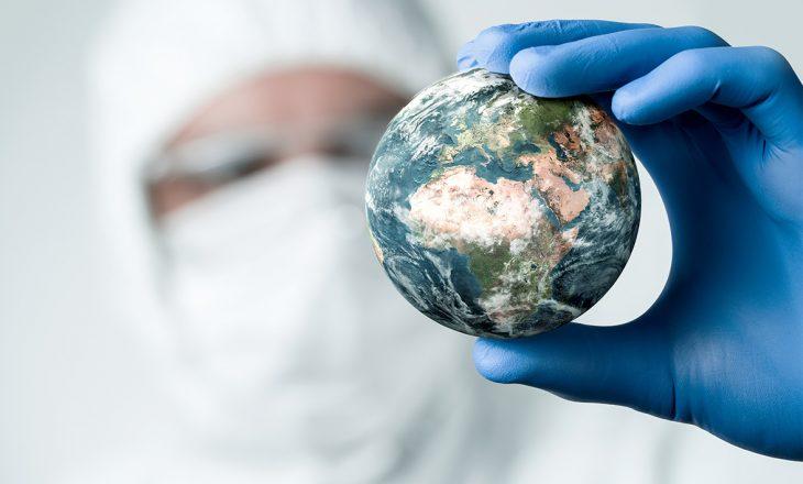 Coronavirusi me rritje të frikshme në botë gjatë 24 orëve të fundit