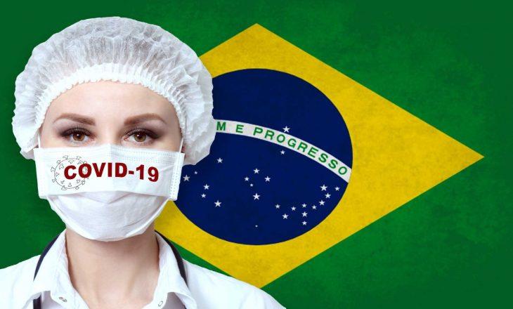 Spitalet në Brazil të stërmbushur me të infektuar me Covid-19