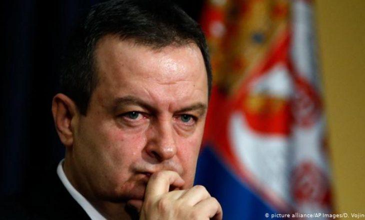 """Daçiq i nervozuar me Hotin: """"Serbia ka një përgjigje për Prishtinën dhe gënjeshtrat e tyre"""""""