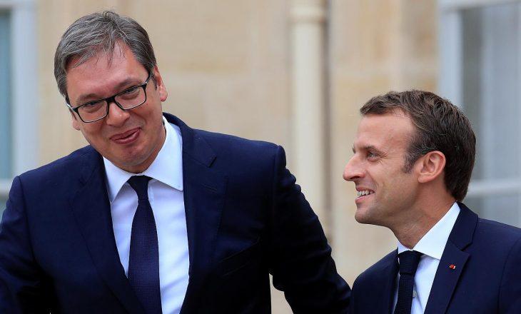 Pasi u takua me Hotin, Macron takohet edhe me Vuçiqin