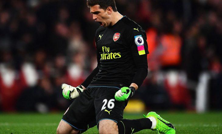 Konkurrencë për pozitën e portierit tek Arsenal