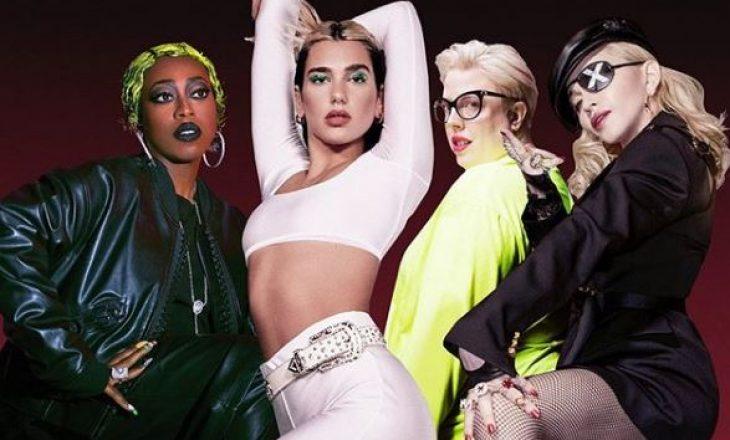 Dua Lipa, Madonna dhe Missy Elliot kanë diçka të përbashkët