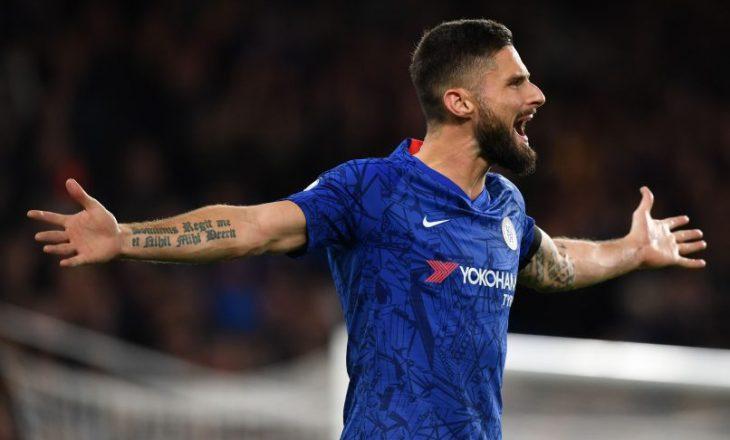 Olivier Giroud do të largohet nga Chelsea?