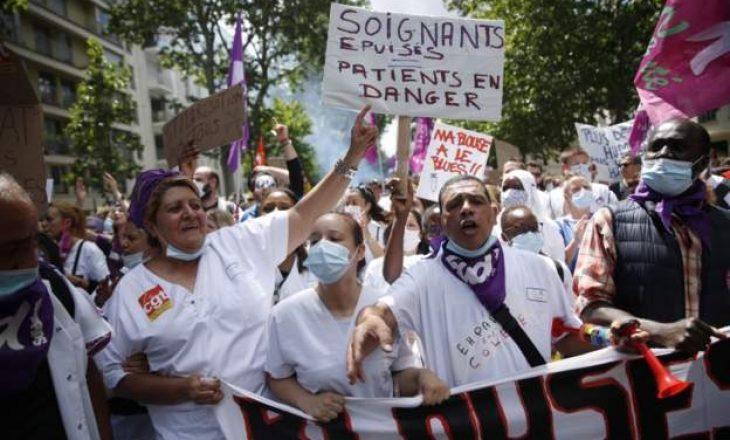 Franca aprovon rritje historike të pagave për punonjësit shëndetësorë