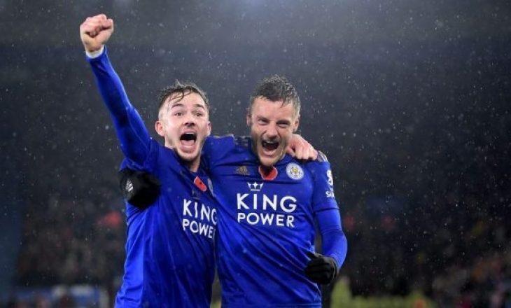 Leicester fiton ndaj Shefield United – Lufta për top 4 edhe më e ngushtë