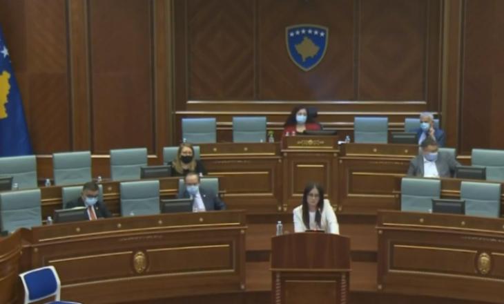 Përplasje e ashpër e ministres Haradinaj-Stublla me deputetët e LVV-së