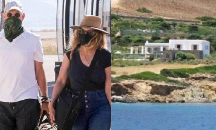 Pasi u shëruan nga coronavirus-i, çifti i famshëm drejt Greqisë për pushime