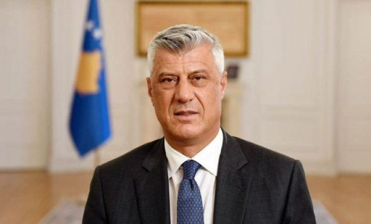 Adresimi i Thaçit për popullin e Kosovës