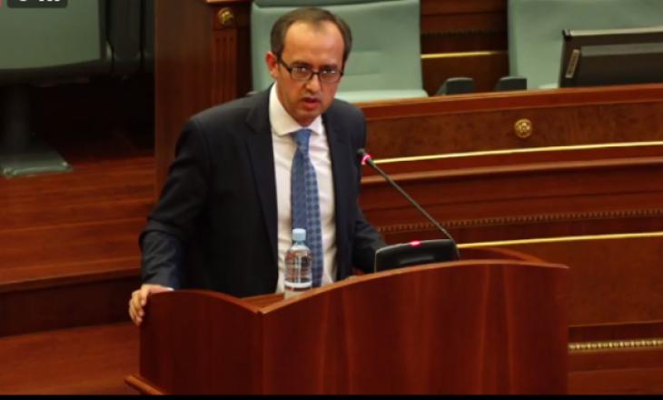 Hoti raporton për dialogun të premten në Kuvend