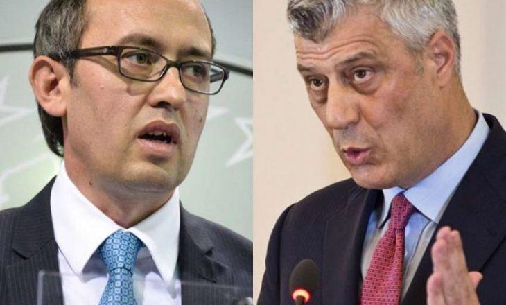 """Surroi: Hoti ta përsërisë sa të dojë se do udhëheqë me dialogun – por """"Thaçi i ngreh penjtë"""""""