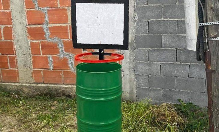 Në fshatin Koshare të Ferizajt hedhja e mbeturinave rikthehet në sport