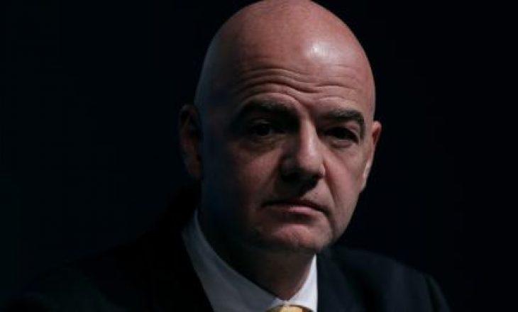 Procedura penale kundër presidentit të FIFA-s