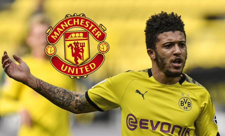 Dortmund me ultimatum drejt Manchester United për Sancho